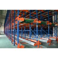 Best Heavy Duty Movable Pallet Shuttle Racking System Customized Size For Cargo Storage wholesale