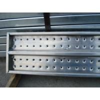 Quality Perforated Anti - Skid Recycled Full Aluminium Scaffold Boards For Engineer wholesale