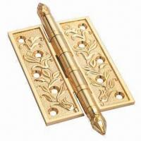 Best Gold Bright Door Hinges with Antique Brass Finish wholesale