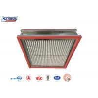Buy cheap High Temperature Resistance Thermostability High Temp Hepa Filter for Pharmaceutical from wholesalers