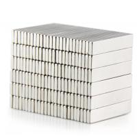 Best Permanent Magnet Cuboid 25x5x1.5mm Rare Earth Neodymium Magnet Strong N50 wholesale