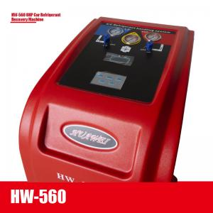 Best Trollybus Refilling Portable AC Recovery Machine HW-560 240V Automatically wholesale