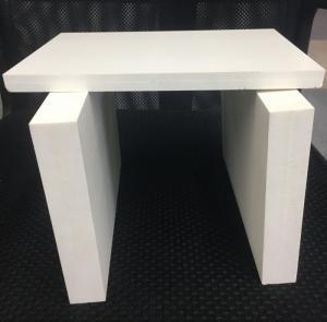Best Decorative White PVC Closed Cell Foam Chemical Resistant Celuka Process wholesale