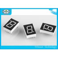 Best Large 7 Segment Display For Multimedia Product , 0.5 Inch One Digit Numeric LED Display wholesale