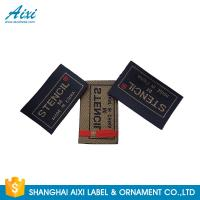 Best Clothes Brand Woven Clothing Label Tags , Customized Garment Private Lable wholesale