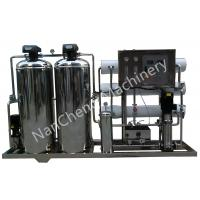 Best Automatic / Manual Pure Water Purification Systems Stainless Steel Machine Frame wholesale