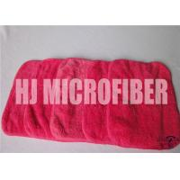 Best Red Rose Cleaning Microfiber Cloths With 88% High Water - Absorption Rate 26X36cm wholesale