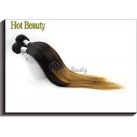 Best Peruvain Silk Straight Colored Human Hair Extensions No Shedding SGS BV wholesale