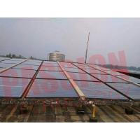 Best Stainless Steel Manifold Vacuum Tube Solar Collector For Project With 50 Tubes wholesale