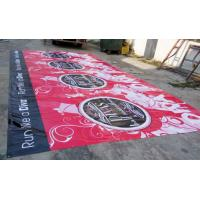 Best large format outdoor advertising pvc / vinyl  banners printing wholesale