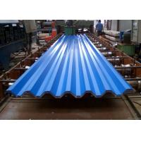 Best Blue Powder Coated Corrugated Steel Roofing Sheets Used For Roofing Wall wholesale
