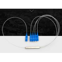 FTTH Low Insertion Loss Fiber Optic Splitter SC PC Connector For Local Area Networks