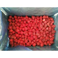 Cheap No Artificial Colors Bulk Frozen Strawberries With Whole/ Dice / Slice Shape for sale
