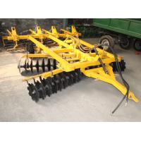Once-over tillage machine