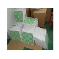 Best Disposable Z - Line Pleated Panel Air Filters , Industrial Air Purifier With Washable Filter wholesale