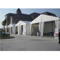 China Small Building Temporary Car Show Tent , Outdoor Canopy Tent 10m X 15m on sale
