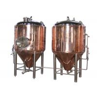 Best Manual Conical Beer Fermenter , Micro Beer Brewing Equipment wholesale