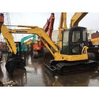 Buy cheap Komatsu mini crawler excavator PC55 for sale, Cheap used original Japan PC55 from wholesalers