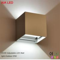 Buy cheap Adjustable beam angle outdoor IP65 LED wall lights for passageway from wholesalers