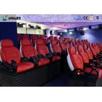 Best Interactive Cinemas 5D Movie Theater Be Equipped With Black Motion Seats wholesale