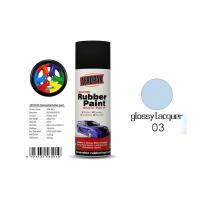 Best Car Removable Rubber Spray Paint , Air Dried Auto Spray Paint With Glossy Lacquer Color wholesale