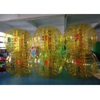 Exciting Inflatable Soccer Games Full Color Adult Human Bubble Ball Suit