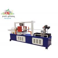 Cheap Customized Paper Tube Making Machine , Production Speed 1-20m / min for sale