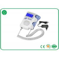 Best High Fidelity Portable Fetal Doppler , Ultrasonic Fetal Heart Rate Doppler wholesale