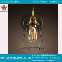 Quality Amber Globe Glass Vintage Ceiling Wall Lamp Light Chandelier Pendant Lighting wholesale