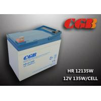 Best HR12135W  12V 33Ah Energy Storage Battery , AGM Rechargeable V0 Battery wholesale