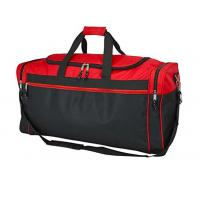 Best Two Tone Polyester Gym Duffel Bag Waterproof For Outdoor Activity / Travel wholesale