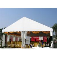 Best White Trade Show Canopy For Outdoor Exhibition , UV Resistant Commercial Party Tents wholesale