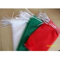 Best Agriculture Drawstring Poly Mesh Bags For Produce , Polypropylene Mesh Packing Bags wholesale