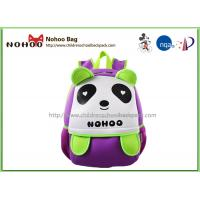 Best Panda Cartoon Waterproof Kids Backpack For Kindergarten Boys And Girls wholesale