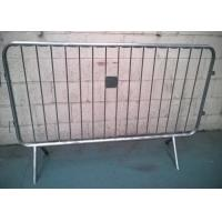 Best Removable Galvanized Crowd Control Barriers Frame Pipe 40MM OD For USA wholesale