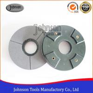 """Best 6"""" 8"""" 10"""" Diamond Grinding Wheels / Resin bond Black Buff for Polishing Granite wholesale"""