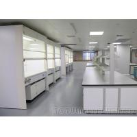 Best 304 Grade SS Laboratory Fume Cupboards , Closed Loop Control System Ducted Fume Hood wholesale