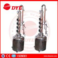 Best 50L Professional Home Distilling Equipment 4 Plates , Vodka Distillation Kit wholesale