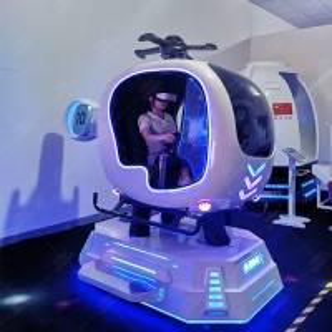 Best VR Flight Simulator Cockpit Aircraft 9d VR Airplane Full Flying Games Machine wholesale