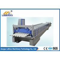 Best 6000Kg Corrugated Roll Forming Machine Cutter Material With Chromed Treatment wholesale