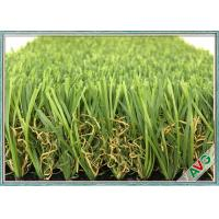 Best W Shape Outdoor Synthetic Grass / Artificial Grass Waving Surface 12800 Dtex wholesale
