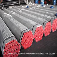 China ASME SA214 Welded Carbon Steel Heat Exchanger Tubes Round Shape on sale