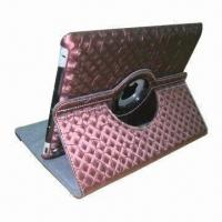 Best Cute 360 Rotating Leather Case for iPad 2 with PC Inside wholesale