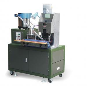Automatic Wire Cutting Striping Splitting Crimping Machine , High Efficency