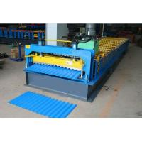 Best Steel / Aluminum Coil Corrugated Roll Forming Machine , Metal Roofing Sheet Making Machine wholesale