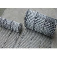 Best 1.8 Mm Thickness Flat Wire Mesh Belt SUS 304 With High Temperature Resistance wholesale