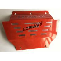 Best Steel Skid Bash Plate For Isuzu Dmax 2008-2012 4WD Parts Engine Protector Cover Red wholesale