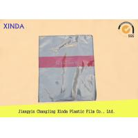 Best Breathable die cut handle flat bottom clear bags with a air hole perfect quality wholesale