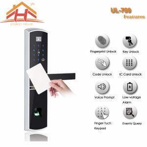 Best Remote Control Security Card Door Locks , Card Reader Door Lock System wholesale