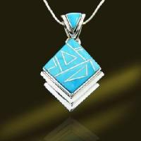 Best 925 Silver Turquoise Pendant (PSN9134) wholesale